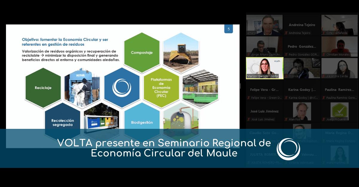 Seminario Regional de Economía Circular